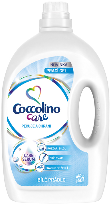 COCCOLINO Care White 24l (60 dávek) - prací gel