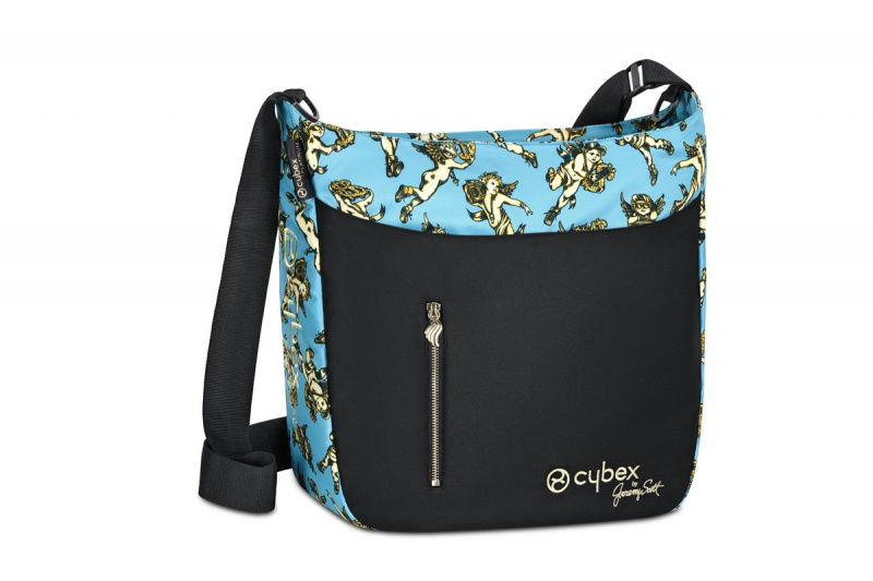 CYBEX by Jeremy Scott Taška na pleny Priam 2019 Cherubs Blue