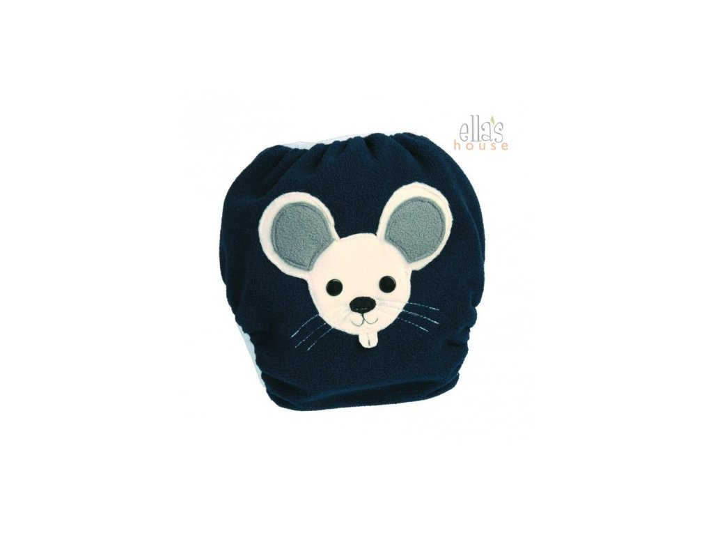 ELLA´S HOUSE BUM Wrap Design Plucky Mouse Blue L