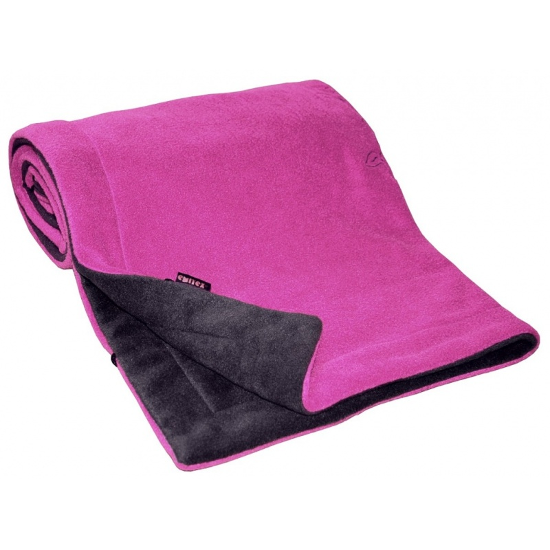 EMITEX Deka fleece 70x100cm antracitfuchsie