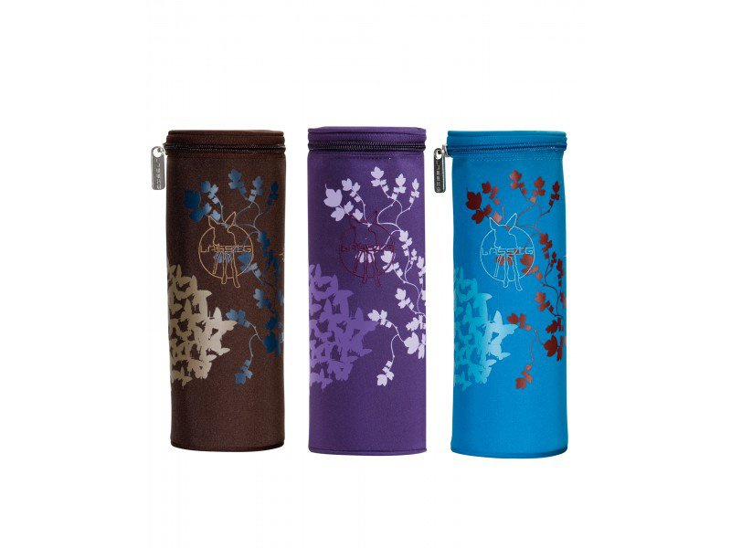 LÄSSIG Casual Bottle Holder Single Butterfly mix barev