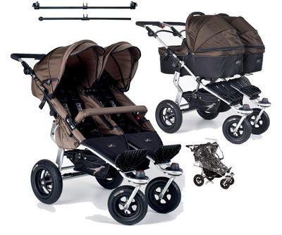 TFK Twinner Carrycot 2015 Chocolate
