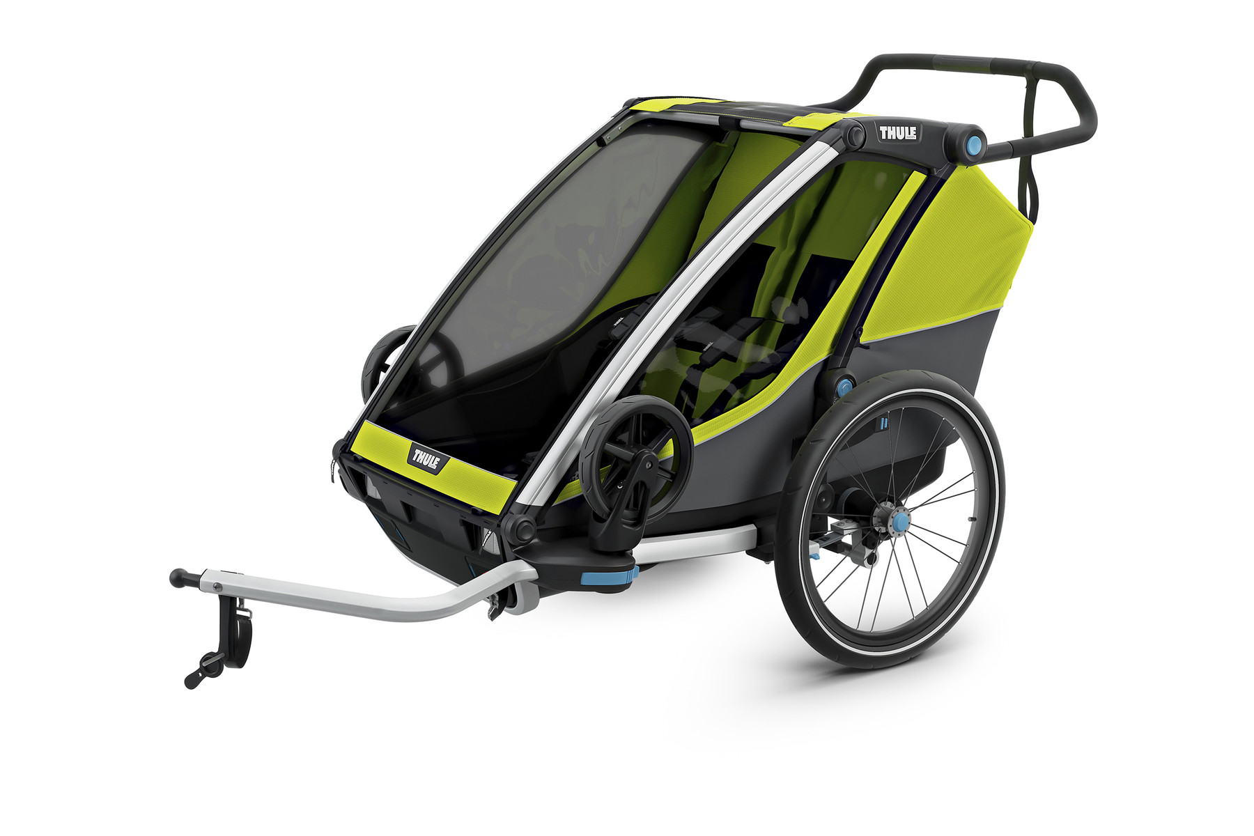 THULE Chariot Cab 2 ChartreuseDark Shadow