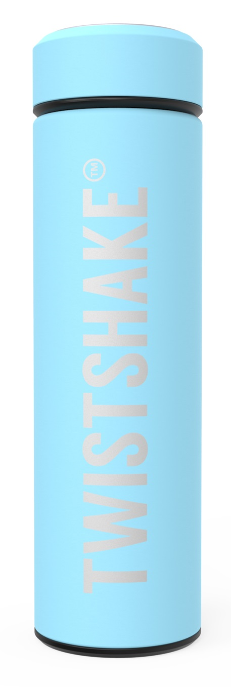 TWISTSHAKE Termoska Hot or Cold 420 ml pastelově modrá