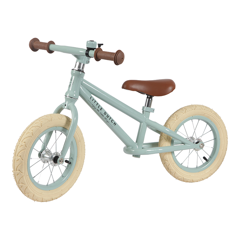 LITTLE DUTCH Odrážedlo Balance Bike Mint