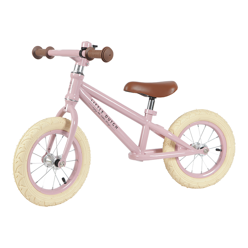 LITTLE DUTCH Odrážedlo Balance Bike Pink