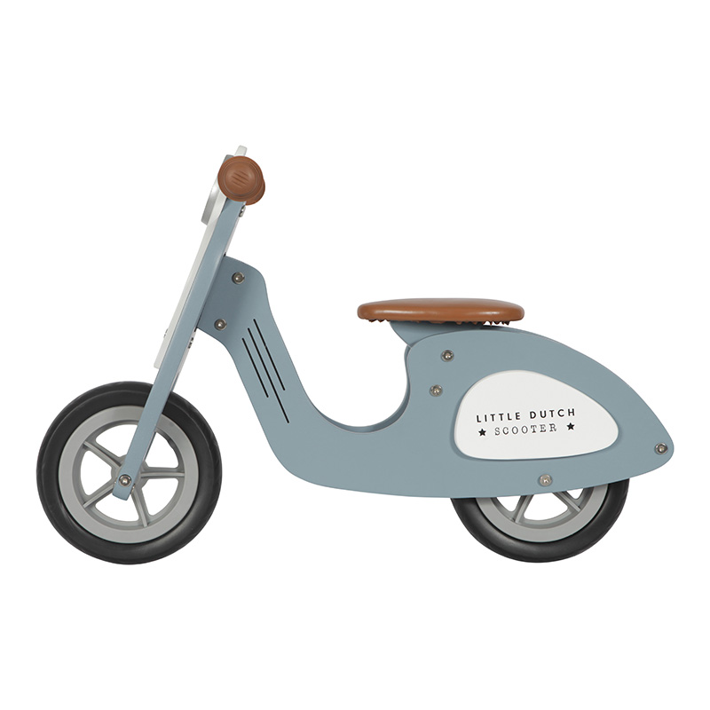 LITTLE DUTCH Scooter Blue