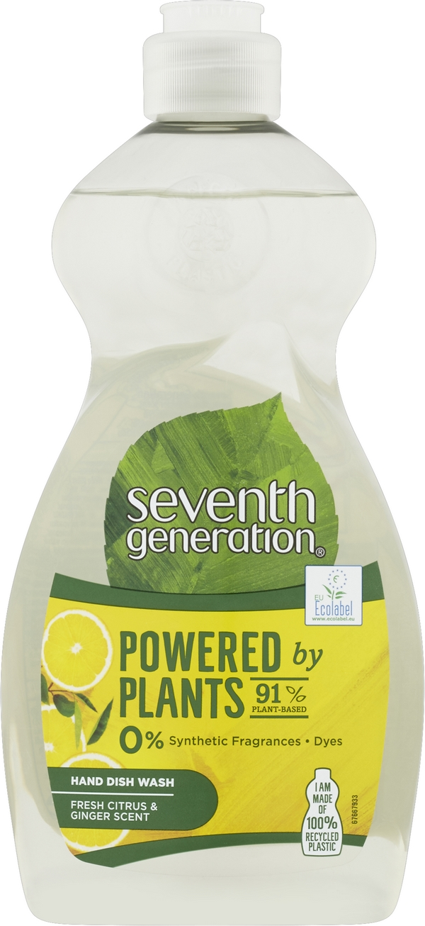 SEVENTH GENERATION Na nádobí Citrus&Ginger 500 ml