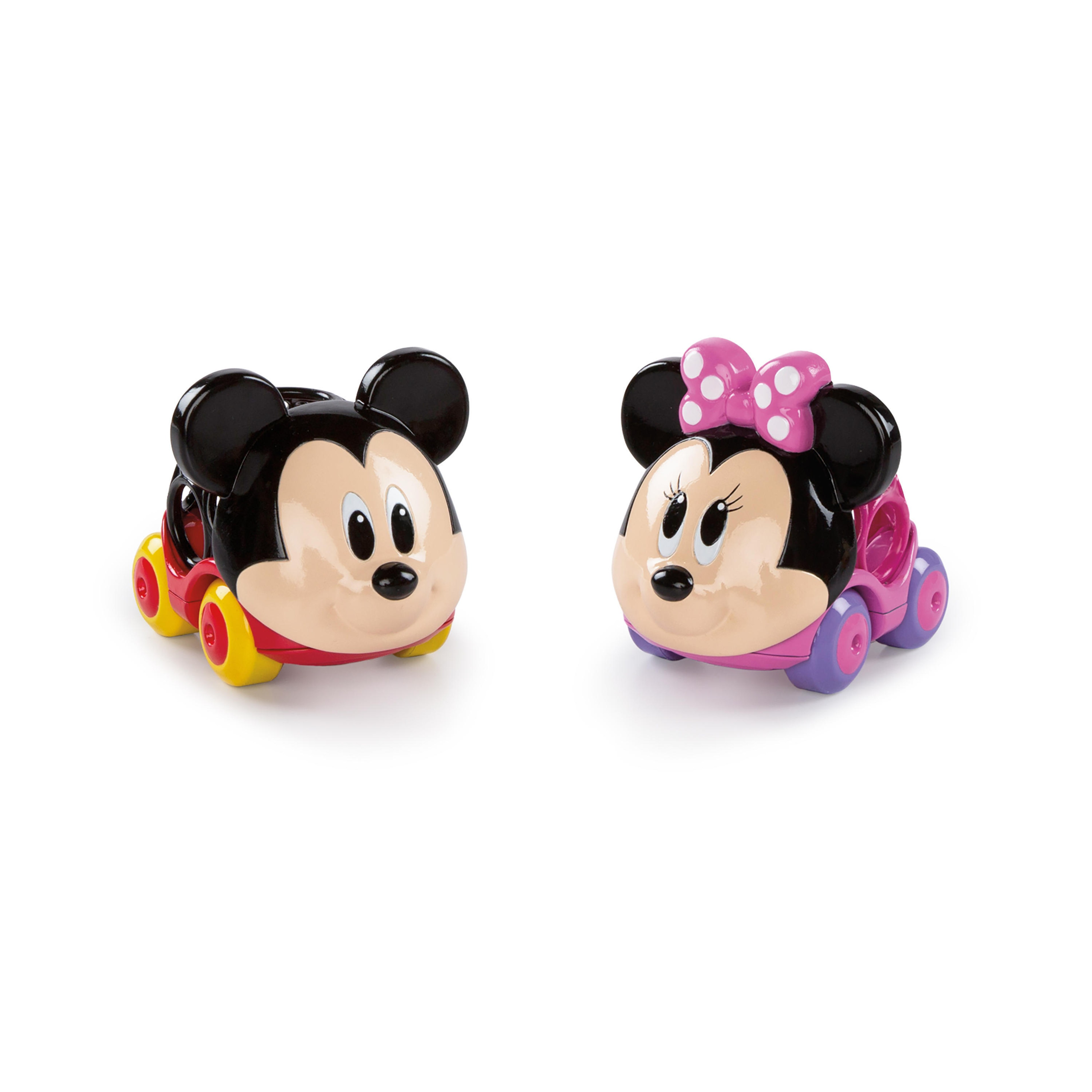 DISNEY BABY Hračka autíčka Mickey Mouse&Friends Go Grippers™ 2ks 12m