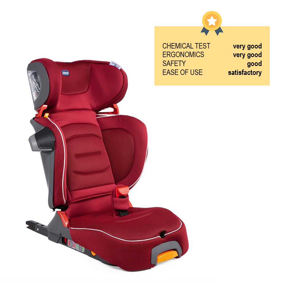 CHICCO Autosedačka FoldGo i-Size - Red Passion
