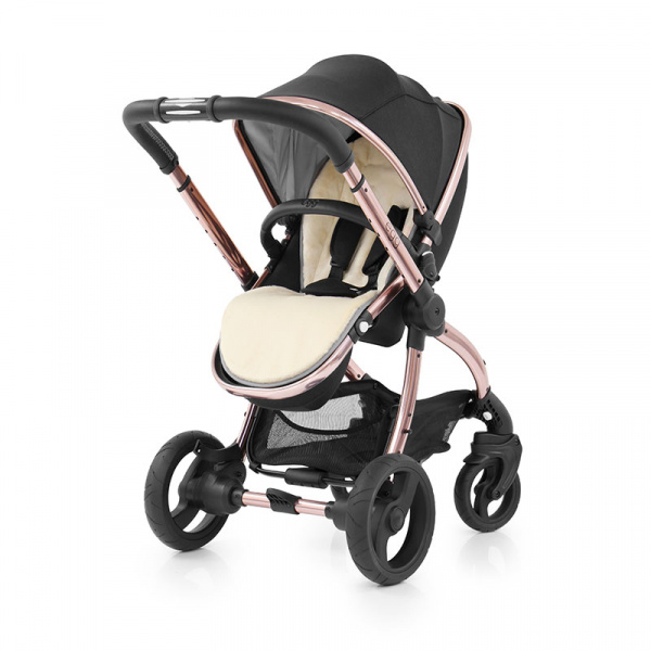 BABYSTYLE EGG Kočárek Diamond BlackRose Gold
