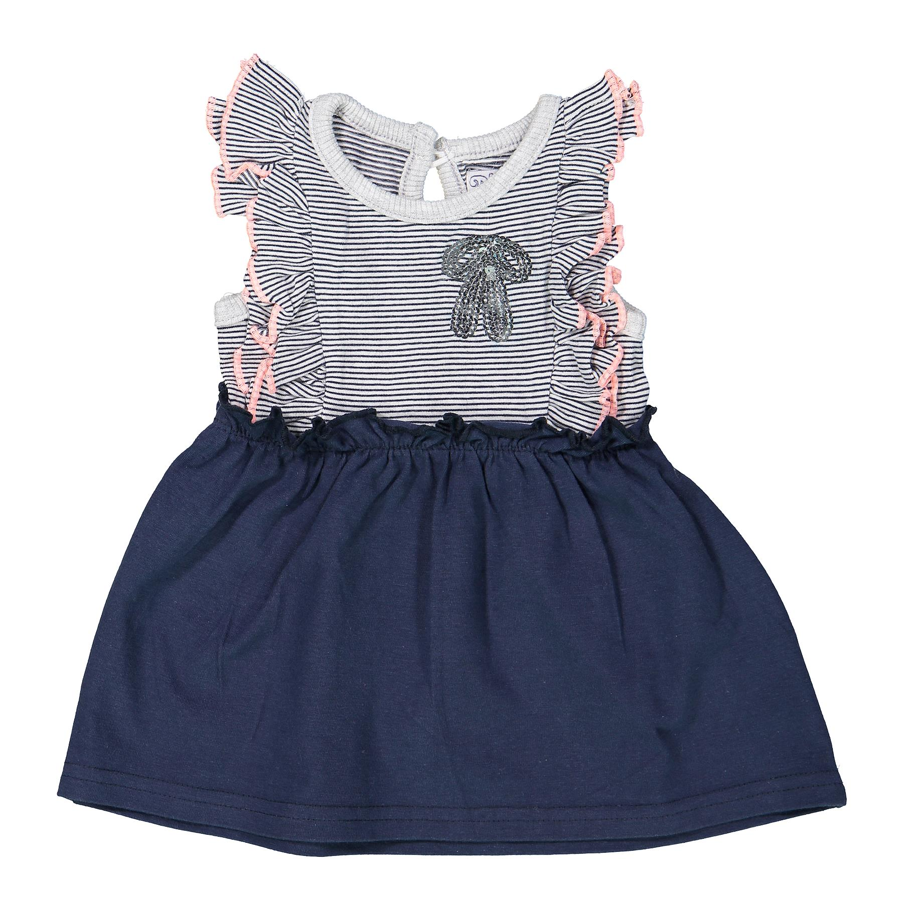 DIRKJE Šaty A-SO FRESH BOWTIQUE vel. 62 Navy