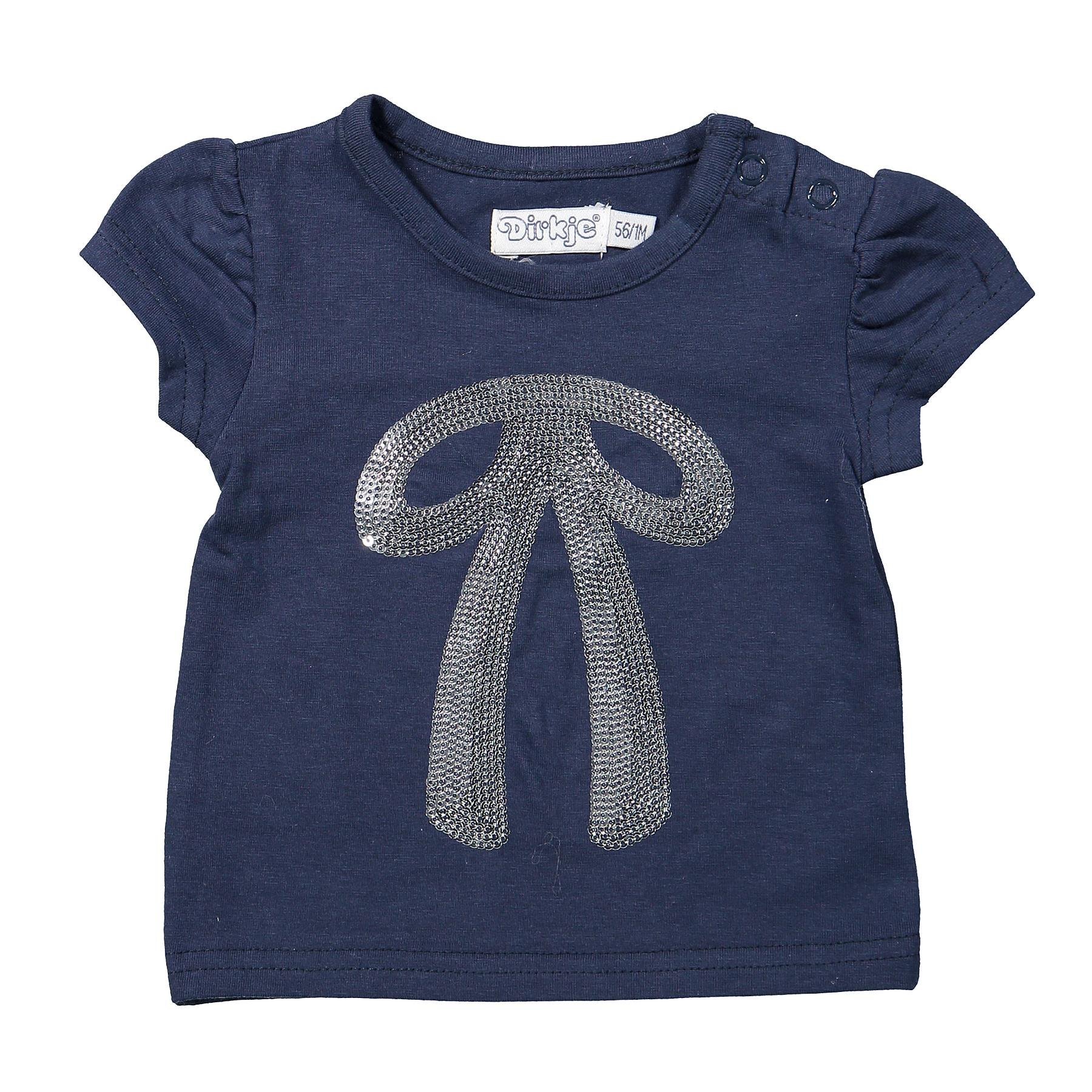 DIRKJE Tričko A-SO FRESH BOWTIQUE vel. 86 Navy