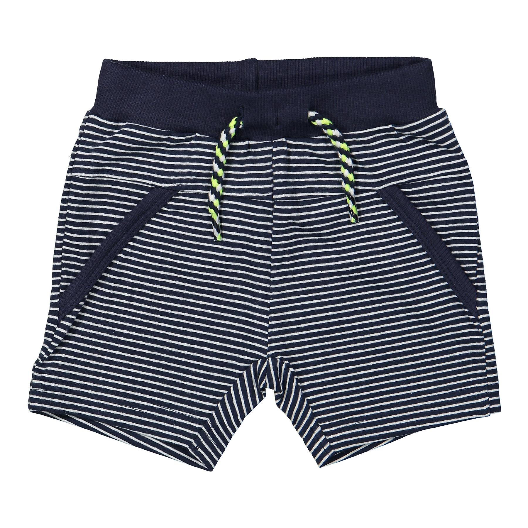 DIRKJE Šortky A-SO FRESH SPACE IT UP! vel. 74 Navy stripe