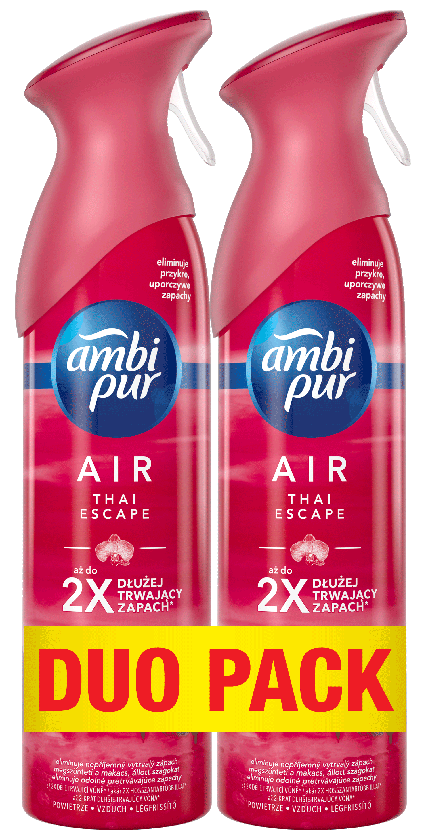 AMBI PUR Spray Thai Premium DUO 2x300 ml