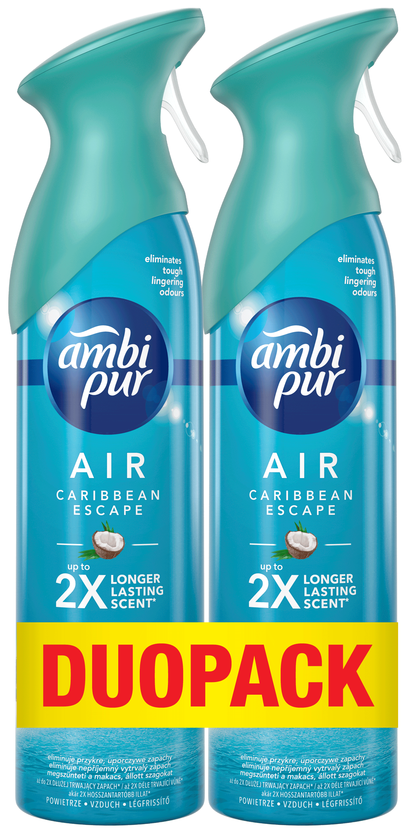 AMBI PUR Spray Caribbean Premium DUO 2x300 ml