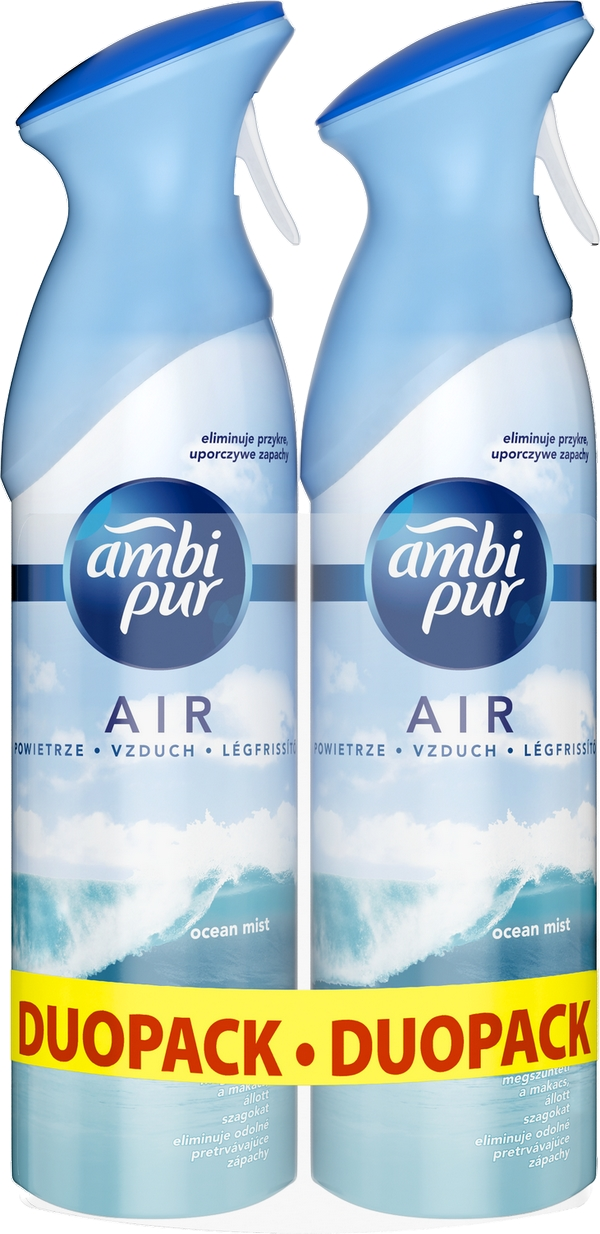 AMBI PUR Spray Ocean & Mist DUO 2x300 ml