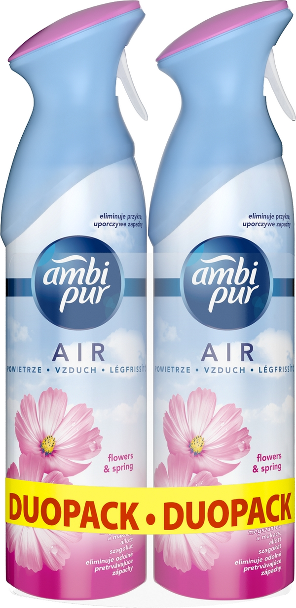 AMBI PUR Spray Flowers & Spring DUO 2x300 ml