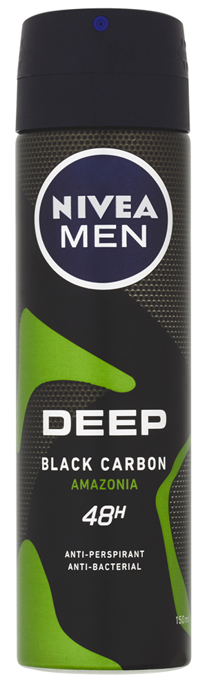 NIVEA Men Deep Amazonia Sprej antiperspirant 150 ml