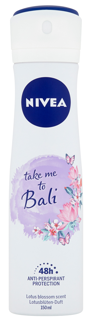 NIVEA Take Me to Bali Sprej antiperspirant 150 ml