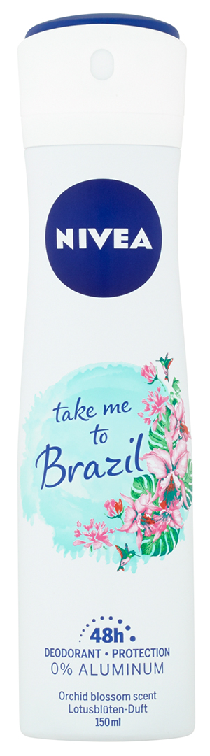 NIVEA Take Me to Brazil Sprej deodorant 150 ml