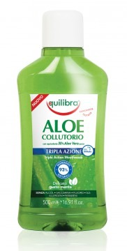 EQUILIBRA ALOE Triple Action - ústní voda 500ml