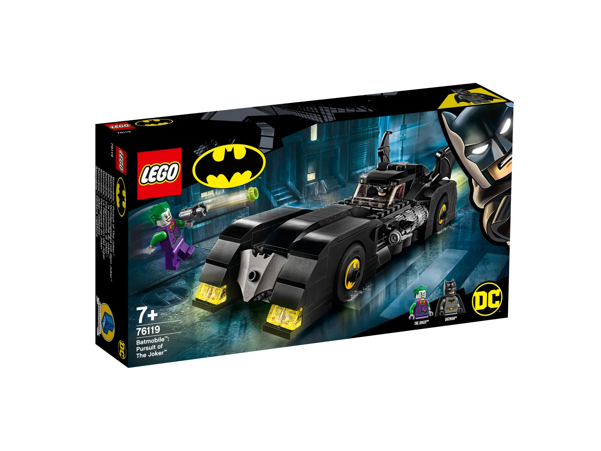 LEGO® Batman Movie Batmobile™: pronásledování Jokera