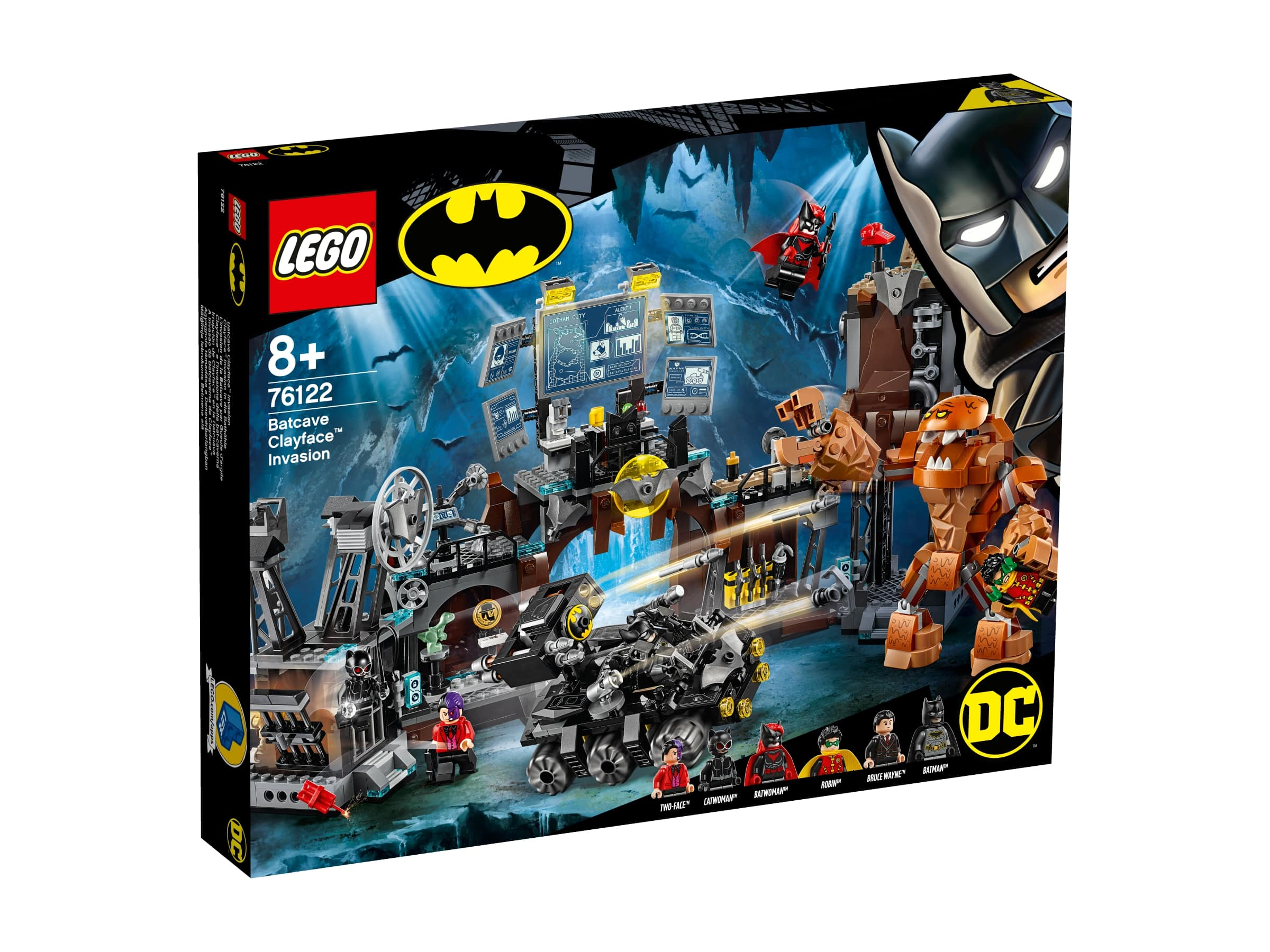 LEGO® Batman Movie Clayface™ útočí na Batmanovu jeskyni
