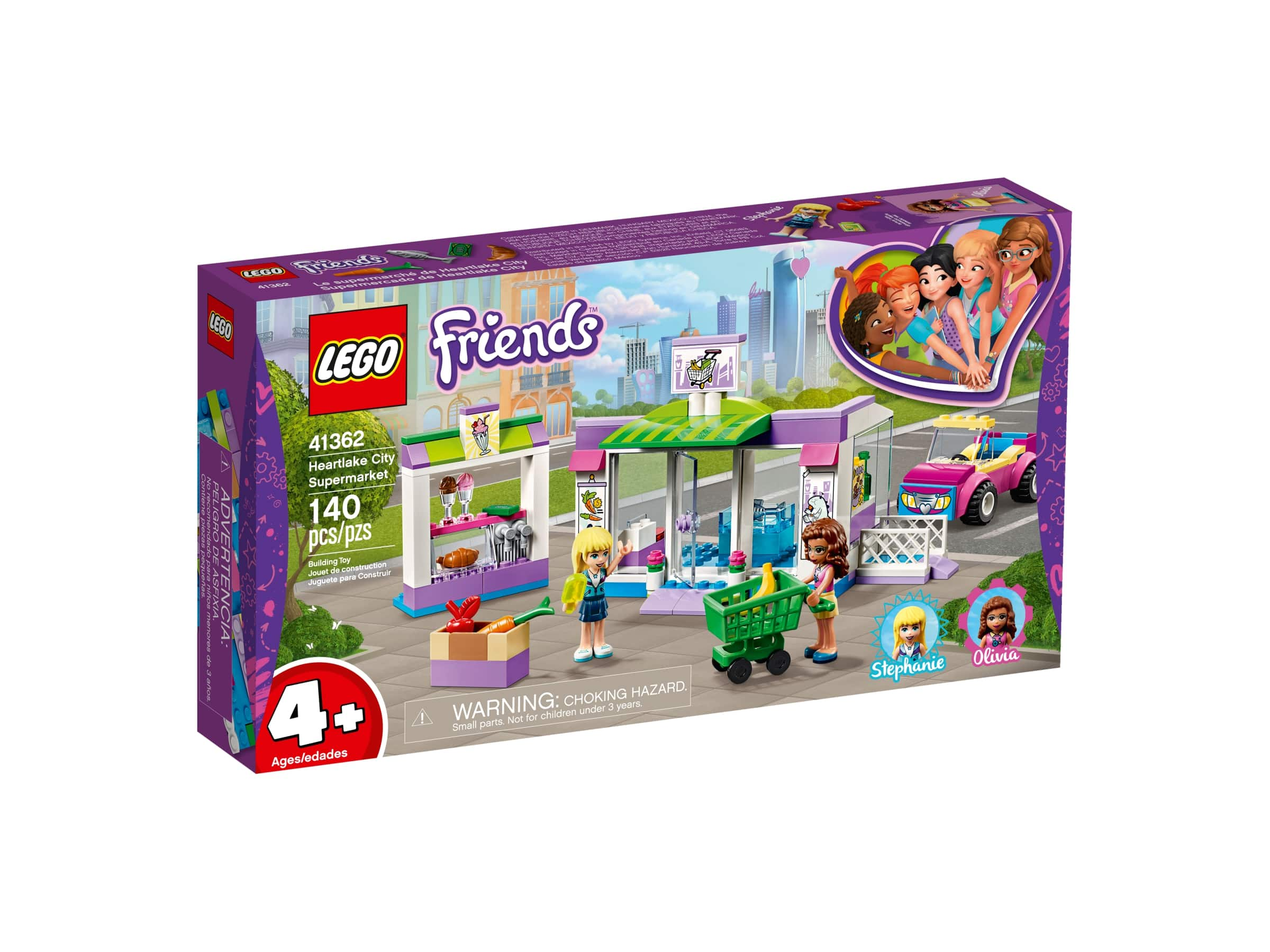 LEGO® Friends Supermarket v městečku Heartlake