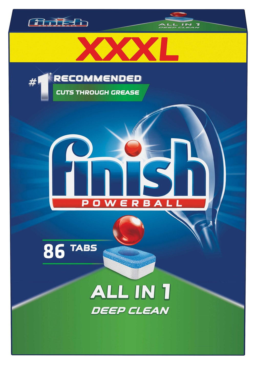 FINISH All-in-1 86 ks – tablety do myčky