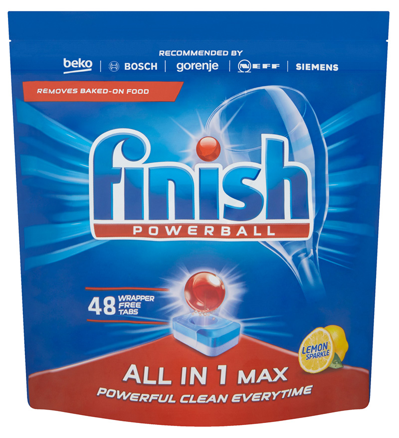 FINISH All-in-1 Max Lemon 48 ks – tablety do myčky