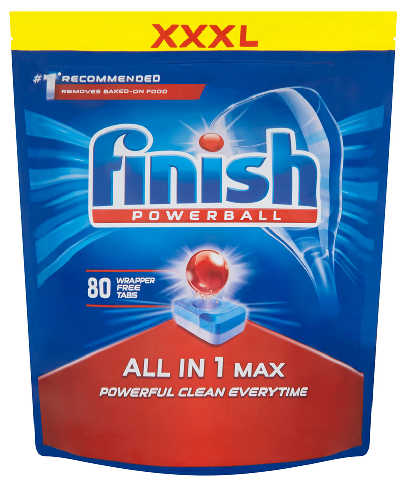 FINISH All-in-1 Max 80 ks – tablety do myčky