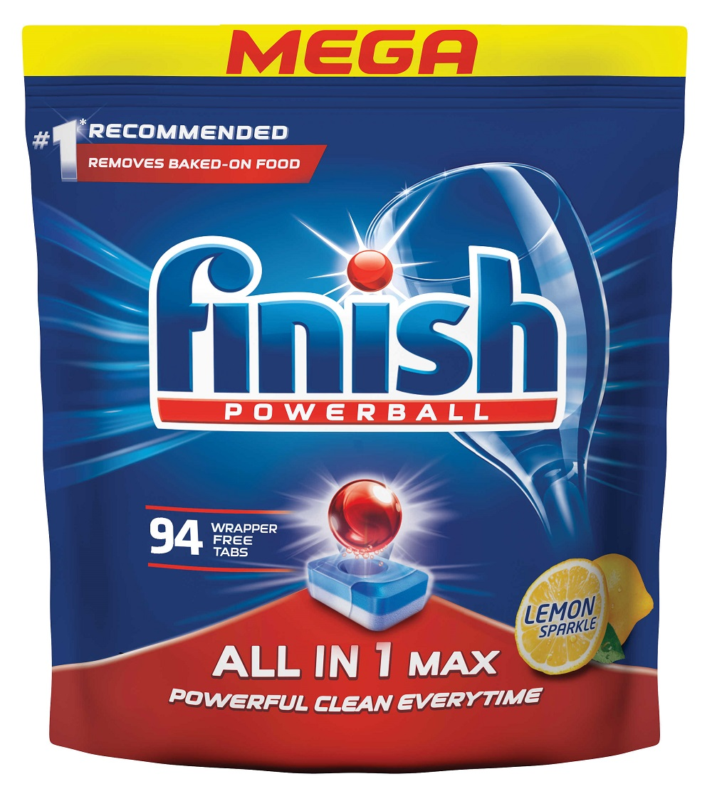 FINISH All-in-1 Max Lemon 94 ks – tablety do myčky