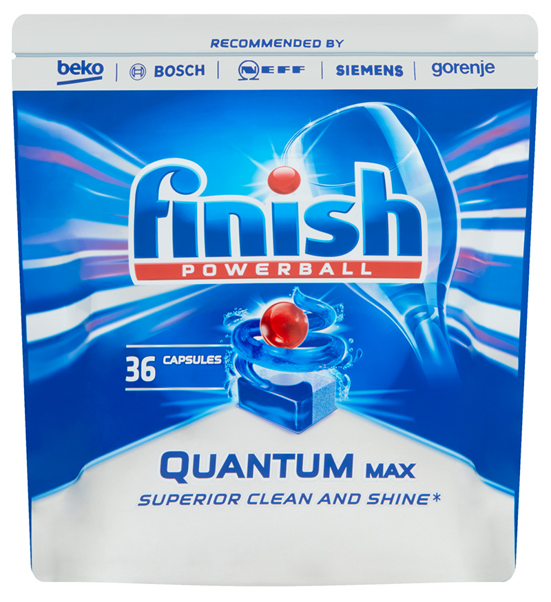 FINISH Quantum Max 36 ks – tablety do myčky