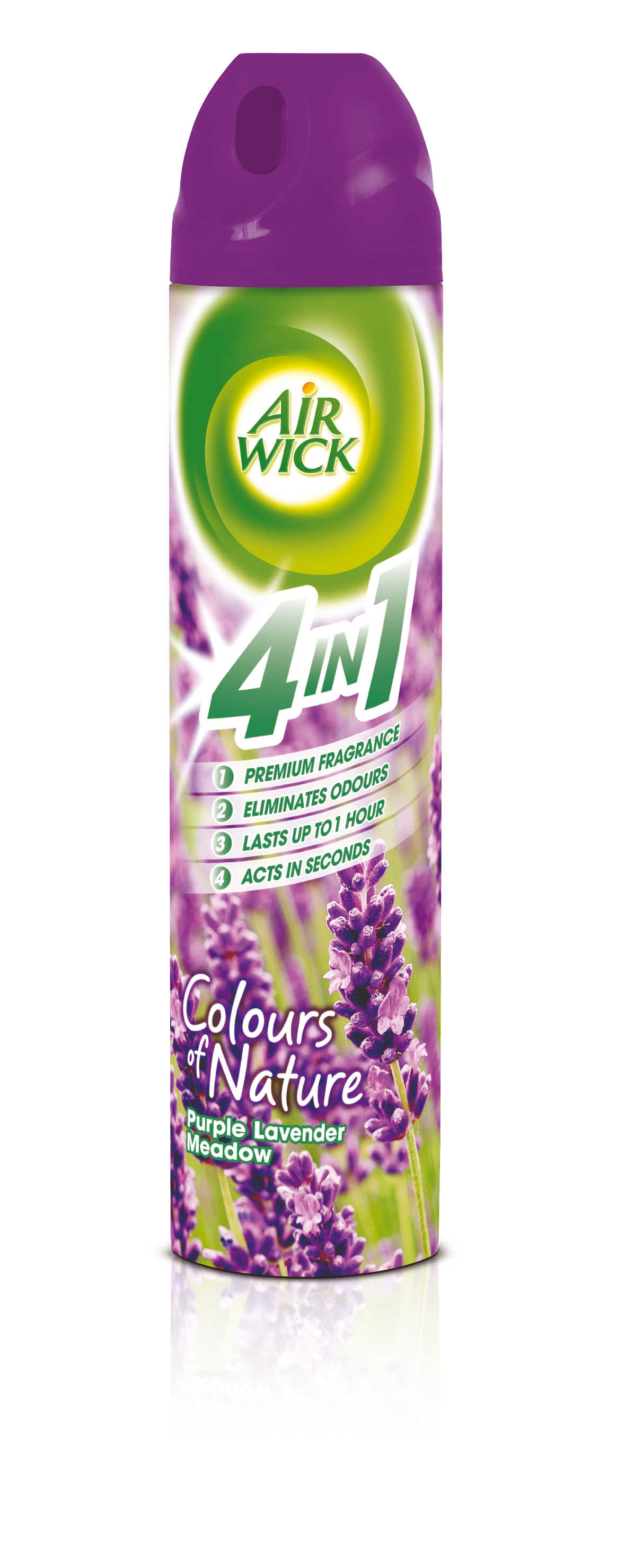 AIR WICK Spray 4in1 Fialové Levandulové Louky 240 ml