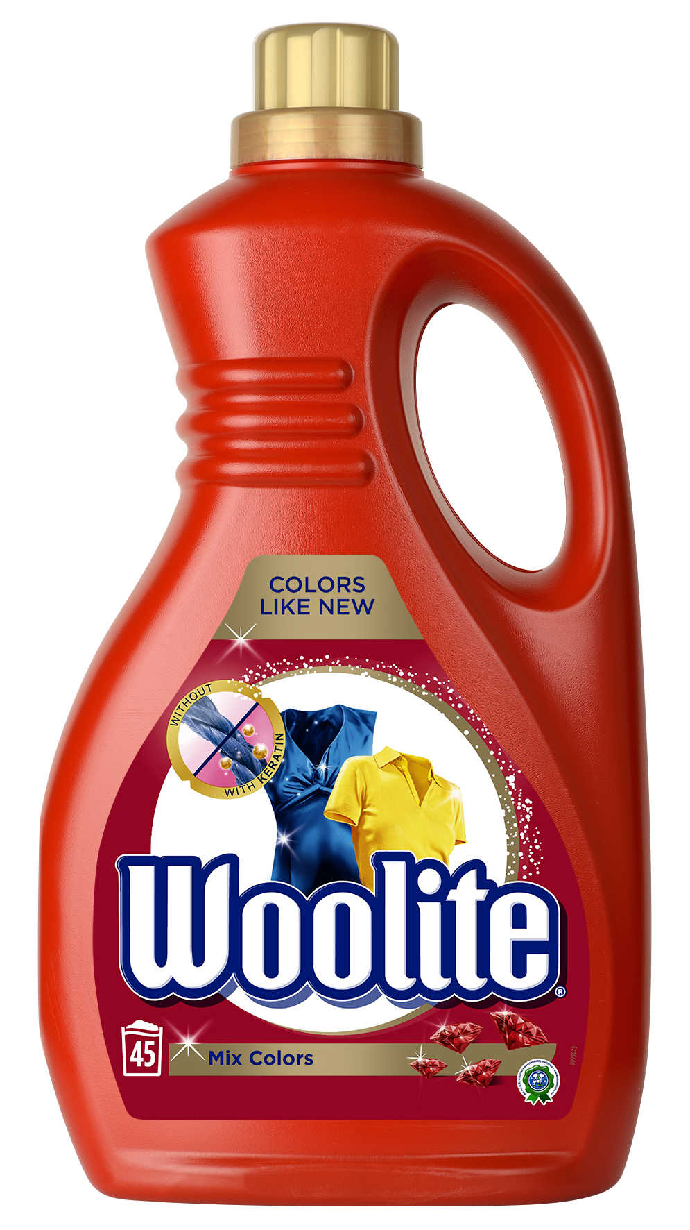 WOOLITE Mix Colors 2.7 l (45 dávek) – prací gel