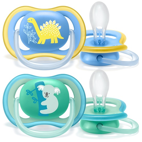 Philips AVENT Šidítko Ultra air 18 m. chlapec (koala) 2 ks