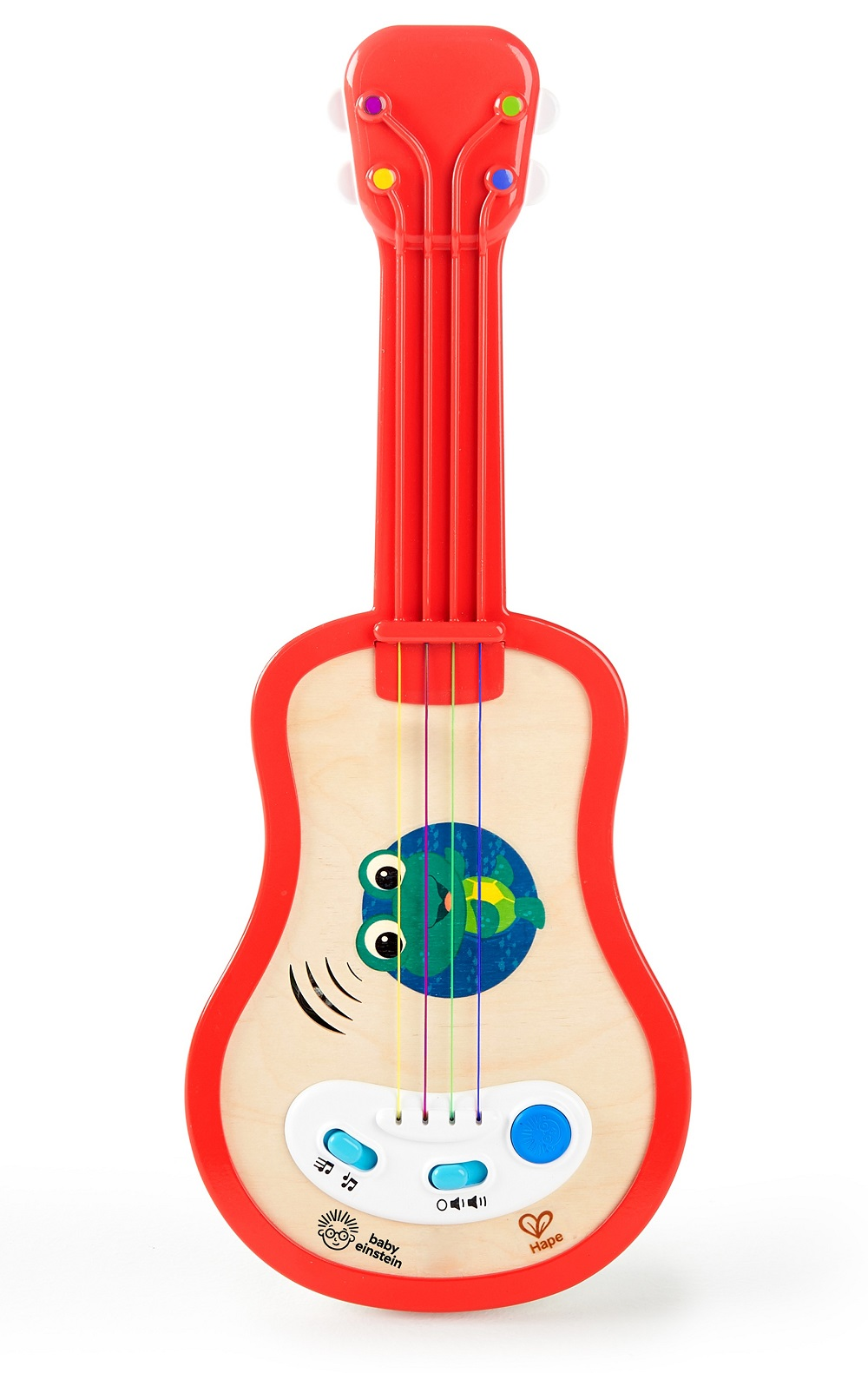 BABY EINSTEIN Dřevěné ukulele Magic Touch HAPE 12m