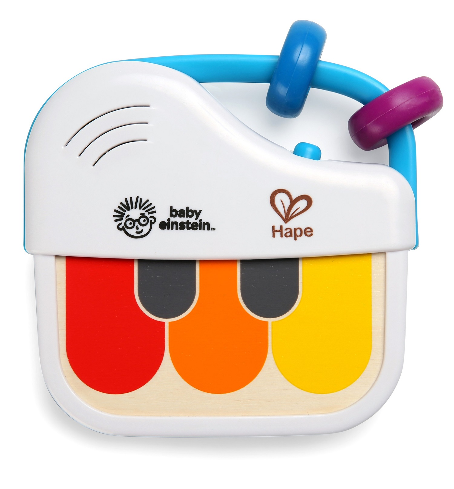 BABY EINSTEIN Dřevěný mini klavír Magic Touch HAPE 3m