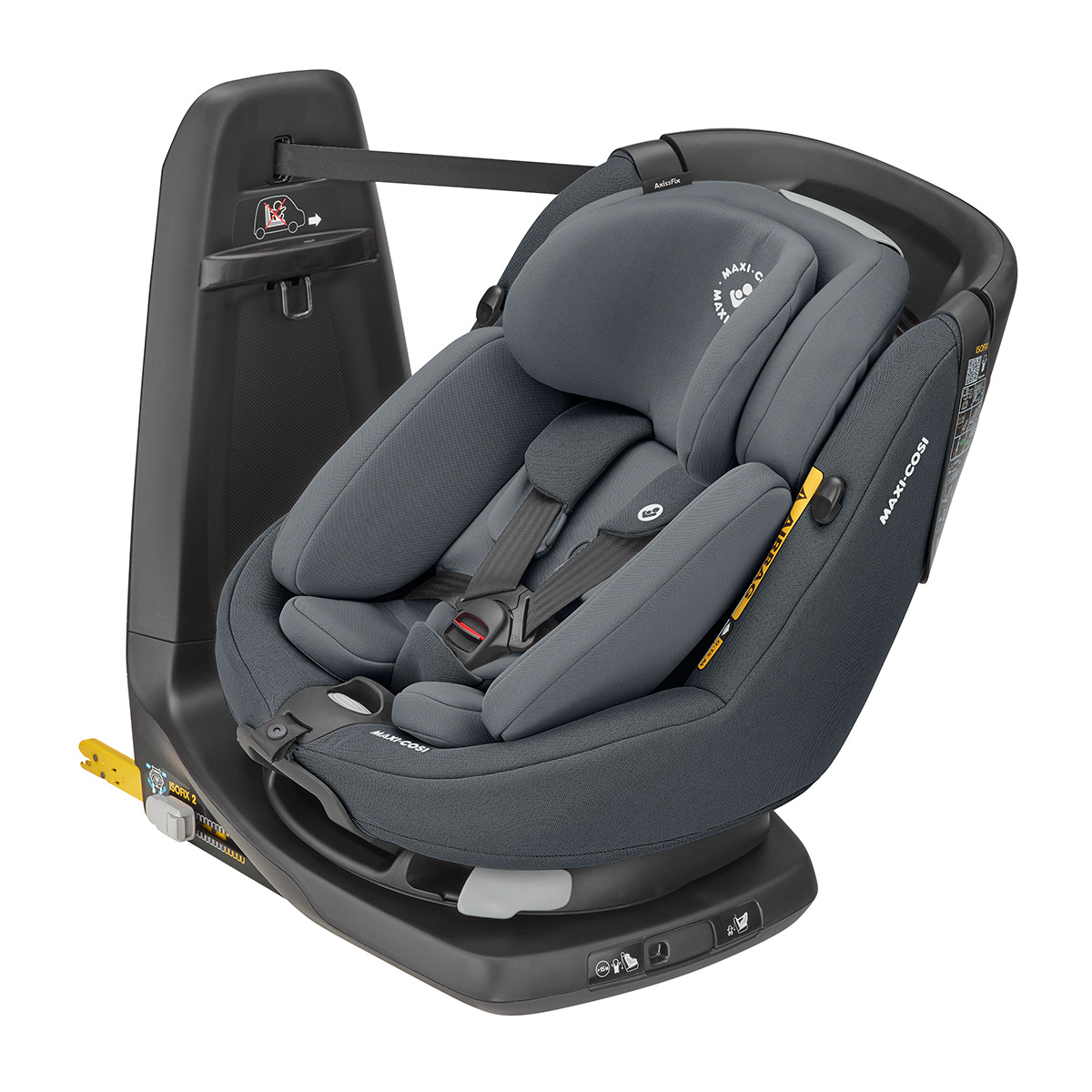 MAXI-COSI AxissFix Plus i-Size (0-18 kg) Authentic Graphite 2020 – autosedačka