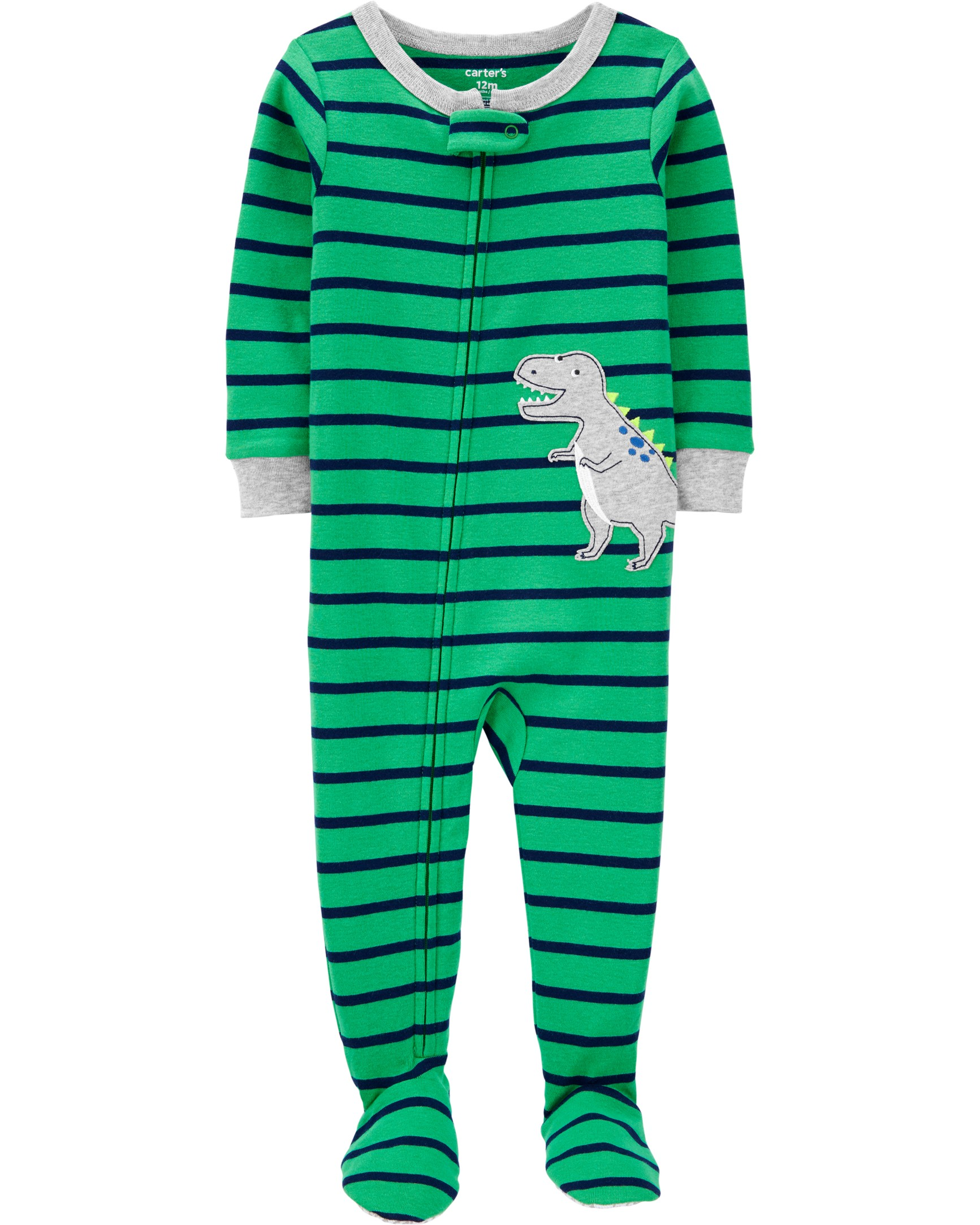 CARTERS Overal zip Dinosaur chlapec 12m vel. 80