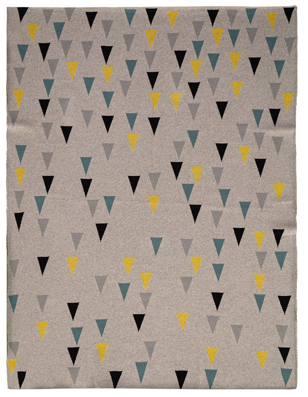 PETITEMARS Deka Harmony Happy Triangles 80 x 100 cm