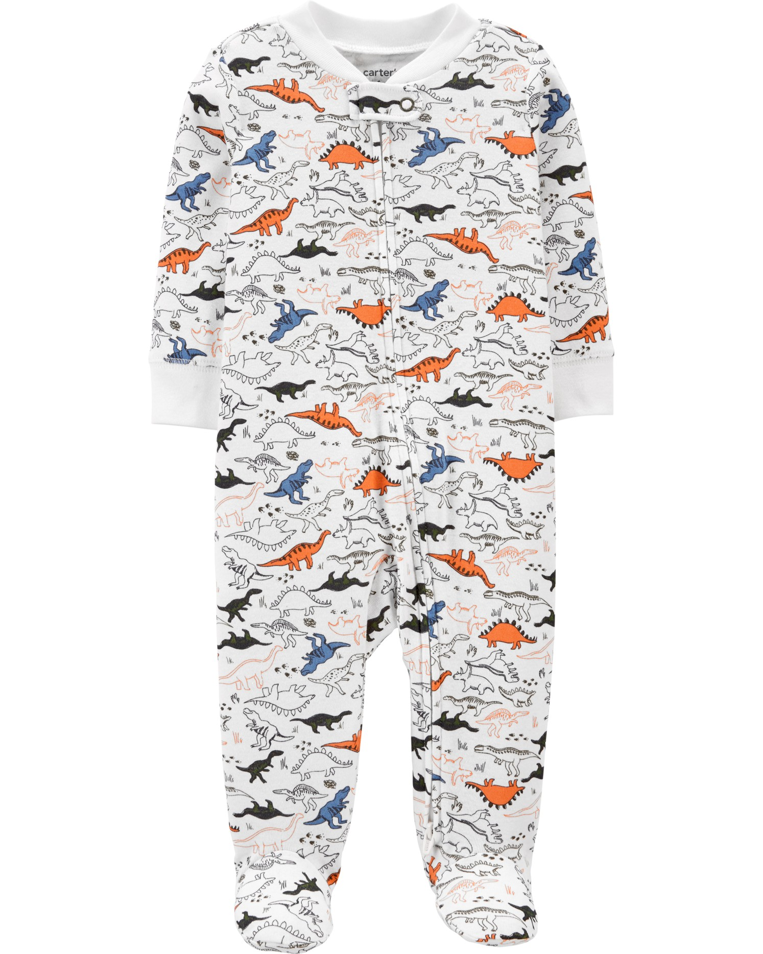 CARTERS Overal na zip Dinosaur chlapec LBB NBvel. 56