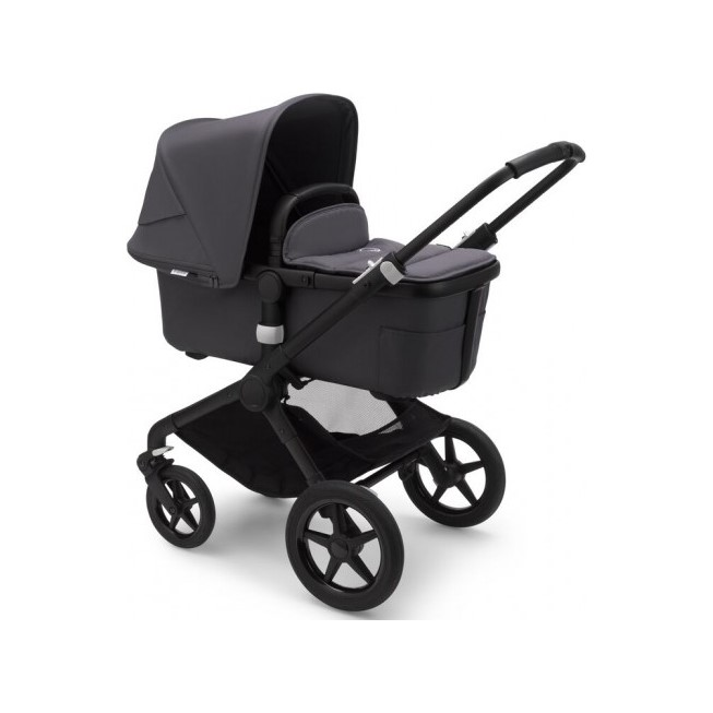 BUGABOO Kočík Fox2 complete BlackSteel Blue-Steel Blue