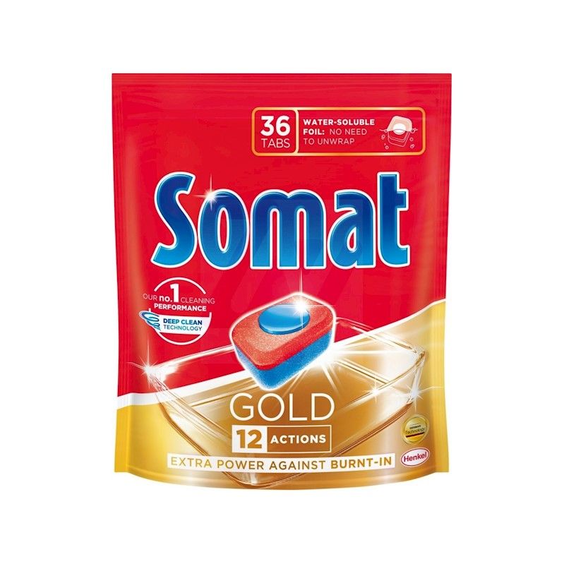 SOMAT Gold 36 ks - tablety do myčky