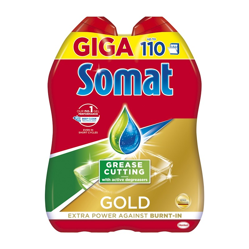 SOMAT Gold Gel Anti-Grease (110 dávek)