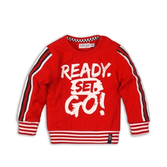 DIRKJE Mikina C-SO FAST READY SET GO! 68 Red