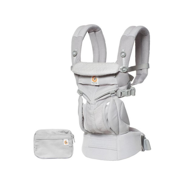 ERGOBABY Nosítko Omni 360 Cool Air Mesh - Grey Pink Dots