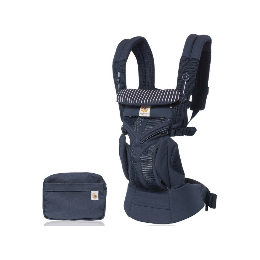 ERGOBABY Nosítko Omni 360 Cool Air Mesh - Pink Stripes