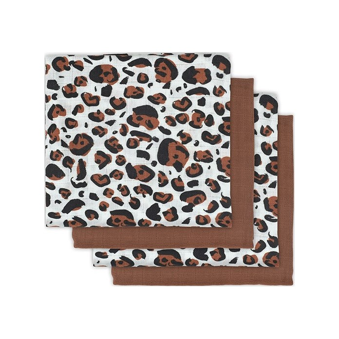 JOLLEIN Plena 70x70 cm (4 ks) Leopard natural